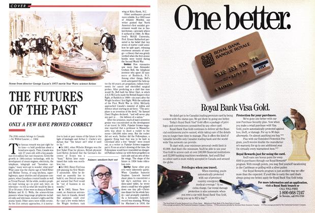 Article Preview: THE FUTURES OF THE PAST, September 1989 | Maclean's