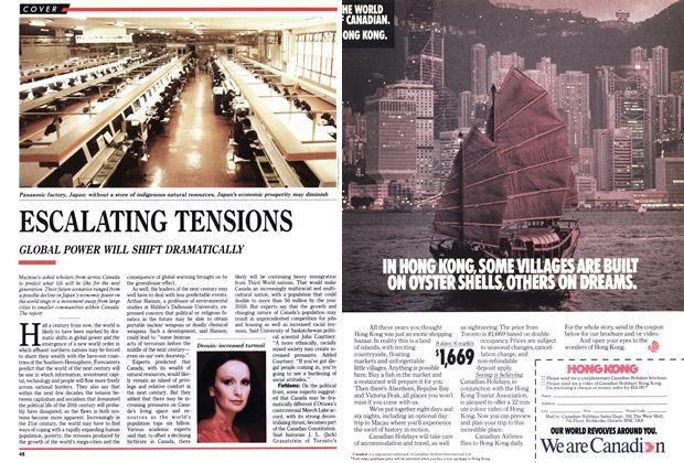 Article Preview: ESCALATING TENSIONS, September 1989 | Maclean's