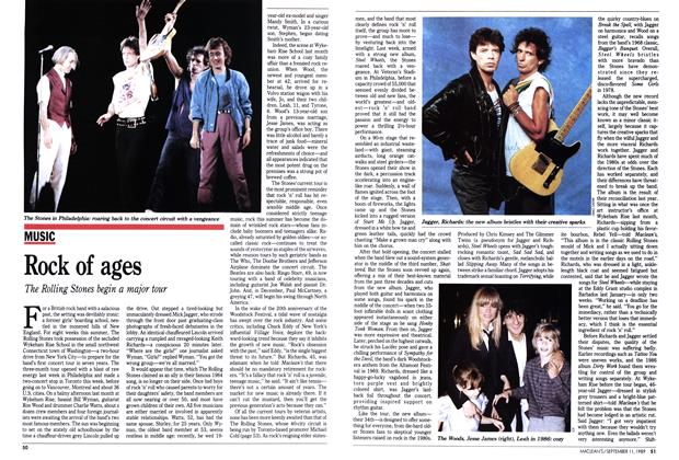 Article Preview: Rock of ages, September 1989 | Maclean's