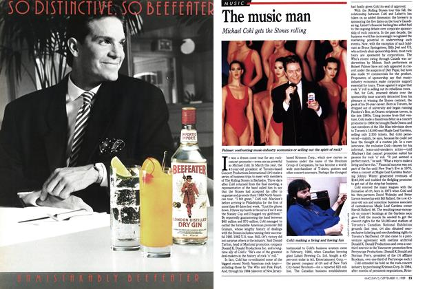 Article Preview: The music man, September 1989 | Maclean's