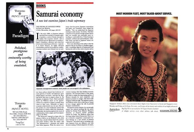 Article Preview: Samurai economy, September 1989 | Maclean's