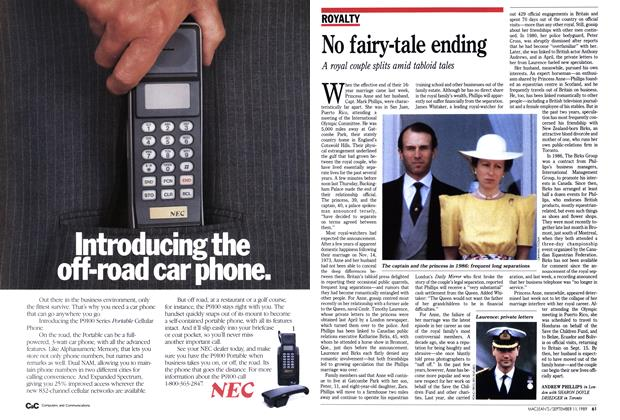 Article Preview: No fairy-tale ending, September 1989 | Maclean's