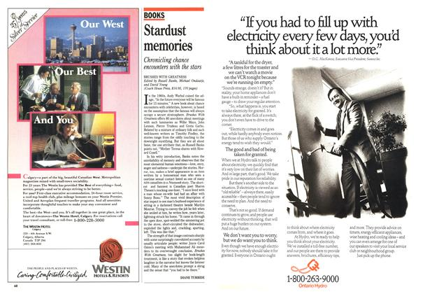 Article Preview: Stardust memories, September 1989 | Maclean's
