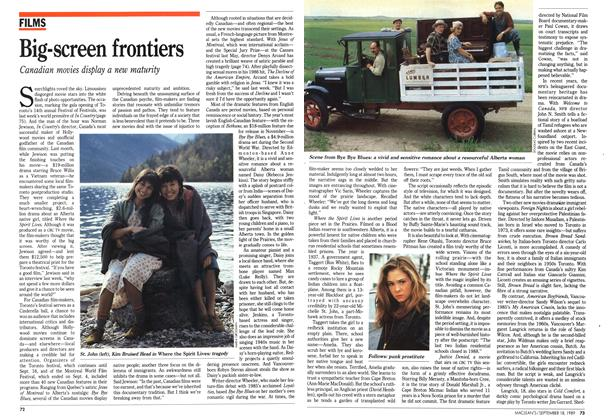 Article Preview: Big-screen frontiers, September 1989 | Maclean's
