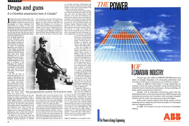Article Preview: Drugs and guns, September 1989 | Maclean's