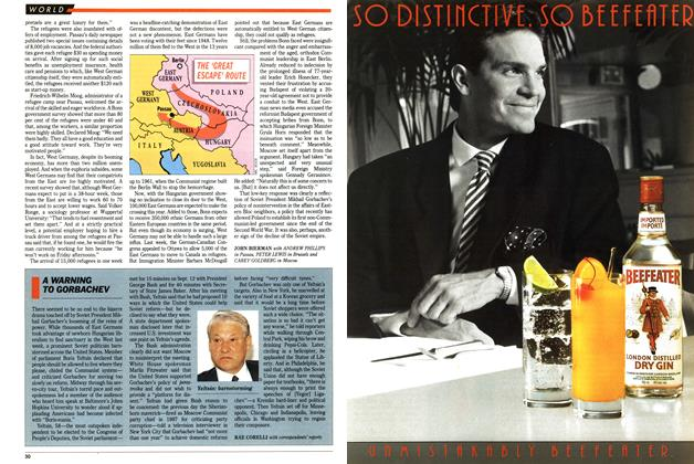 Article Preview: A WARNING TO GORBACHEV, September 1989 | Maclean's
