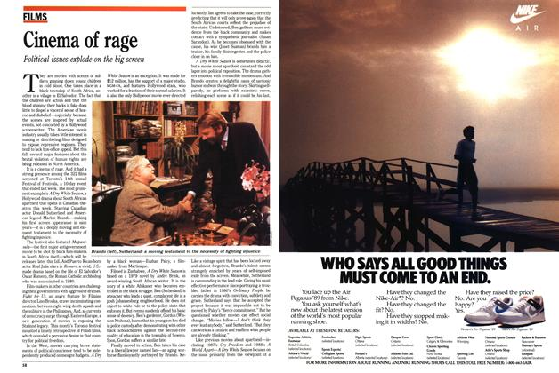 Article Preview: Cinema of rage, September 1989 | Maclean's