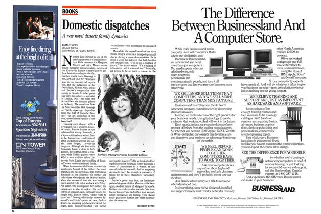 Article Preview: Domestic dispatches, September 1989 | Maclean's