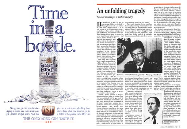 Article Preview: An unfolding tragedy, October 1989 | Maclean's