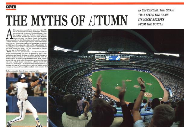 Article Preview: THE MYTHS OF AUTUMN, October 1989 | Maclean's
