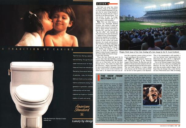 Article Preview: THE VIEW FROM SECTION 117, October 1989   Maclean's