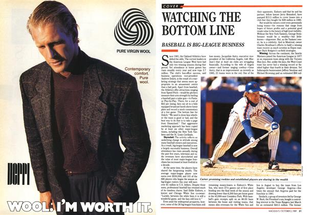 Article Preview: WATCHING THE BOTTOM LINE, October 1989 | Maclean's