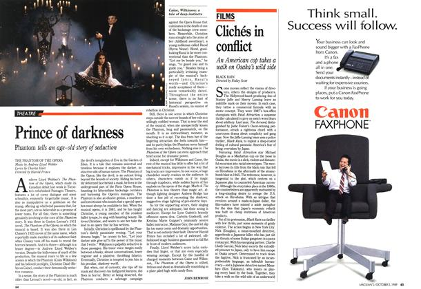 Article Preview: Clichés in conflict, October 1989 | Maclean's