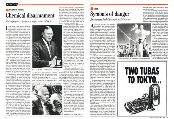 Article Preview: Chemical disarmament, October 1989 | Maclean's