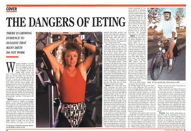 Article Preview: THE DANGERS OF DIETING, October 1989 | Maclean's