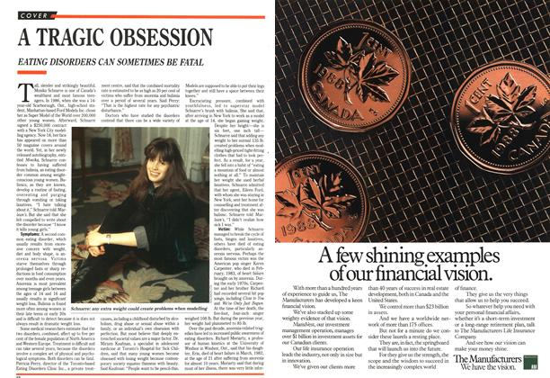 Article Preview: A TRAGIC OBSESSION, October 1989 | Maclean's