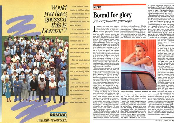 Article Preview: Bound for glory, October 1989 | Maclean's