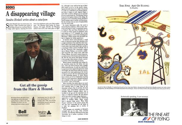 Article Preview: A disappearing village, October 1989 | Maclean's