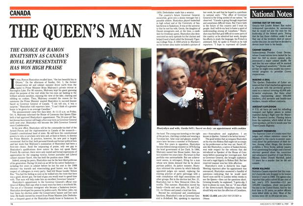 Article Preview: THE QUEEN'S MAN, October 1989 | Maclean's