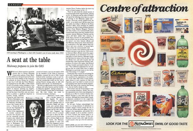 Article Preview: A seat at the table, October 1989 | Maclean's