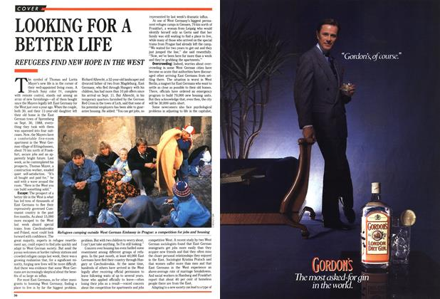 Article Preview: LOOKING FOR A BETTER LIFE, October 1989 | Maclean's