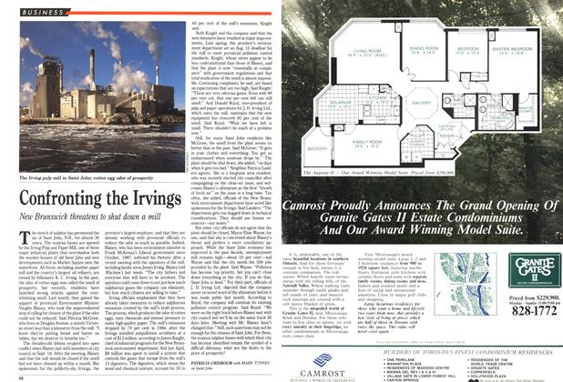 Article Preview: Confronting the Irvings, October 1989 | Maclean's
