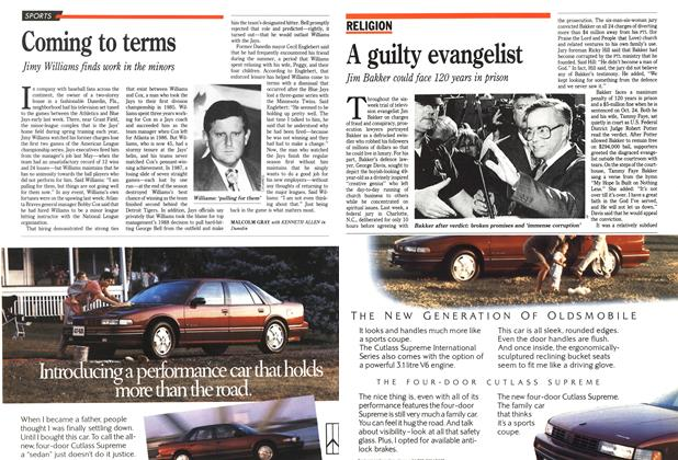 Article Preview: A guilty evangelist, October 1989 | Maclean's
