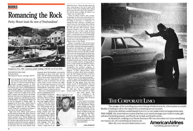 Article Preview: Romancing the Rock, October 1989 | Maclean's