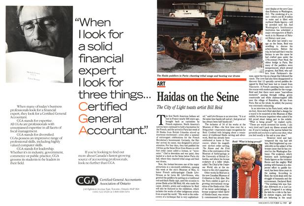 Article Preview: Haidas on the Seine, October 1989 | Maclean's