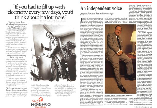 Article Preview: An independent voice, October 1989 | Maclean's