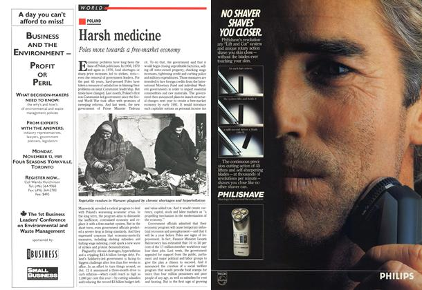 Article Preview: Harsh medicine, October 1989 | Maclean's