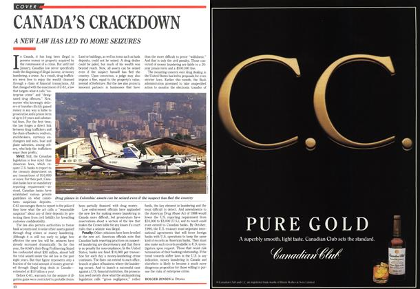 Article Preview: CANADA'S CRACKDOWN, October 1989 | Maclean's