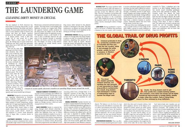 Article Preview: THE LAUNDERING GAME, October 1989 | Maclean's