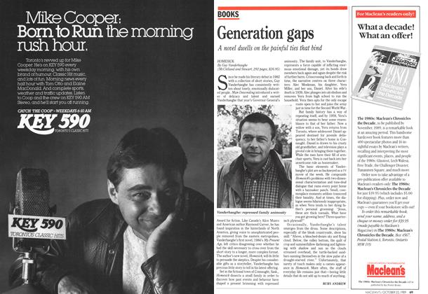 Article Preview: Generation gaps, October 1989 | Maclean's