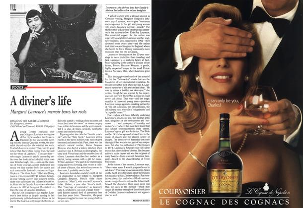 Article Preview: A diviner's life, October 1989 | Maclean's