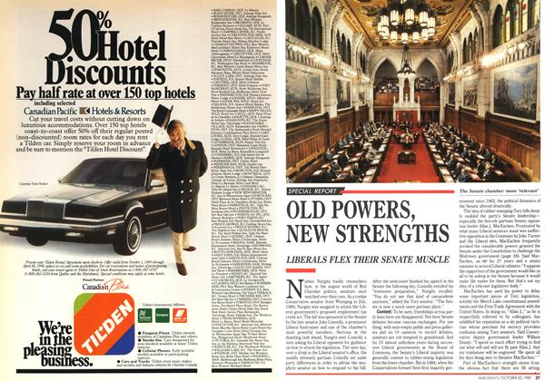 Article Preview: OLD POWERS, NEW STRENGTHS, October 1989 | Maclean's