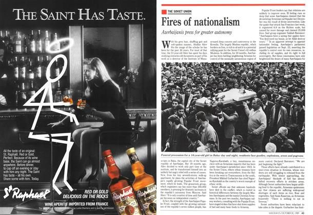 Article Preview: Fires of nationalism, October 1989 | Maclean's