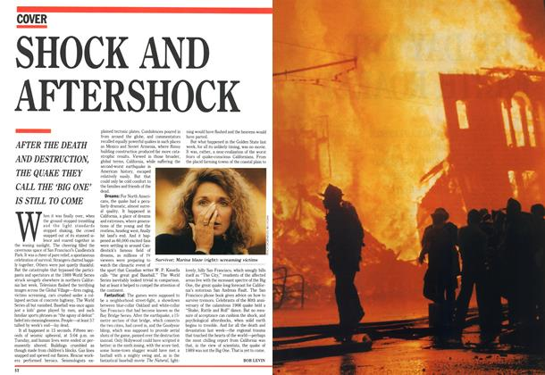 Article Preview: SHOCK AND AFTERSHOCK, October 1989 | Maclean's