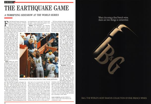 Article Preview: THE EARTHQUAKE GAME, October 1989 | Maclean's