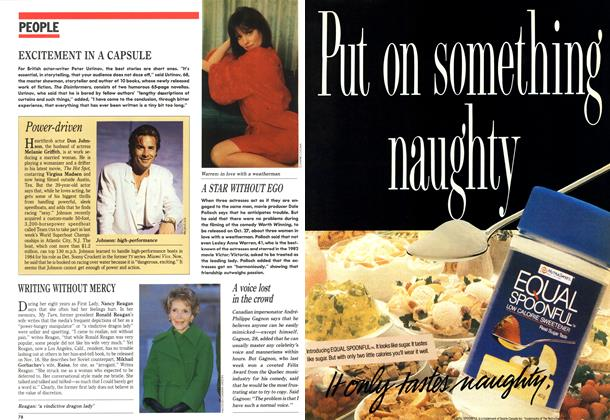 Article Preview: PEOPLE, October 1989 | Maclean's