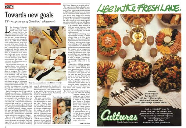 Article Preview: Towards new goals, October 1989 | Maclean's