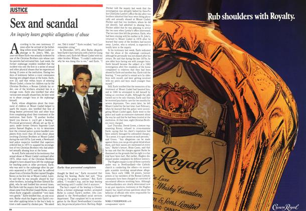 Article Preview: Sex and scandal, October 1989 | Maclean's