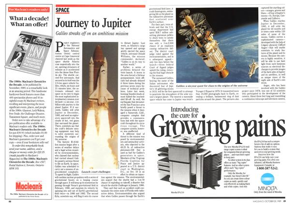 Article Preview: Journey to Jupiter, October 1989 | Maclean's