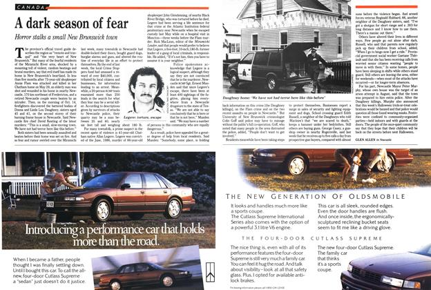 Article Preview: A dark season of fear, November 1989 | Maclean's