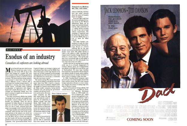 Article Preview: Exodus of an industry, November 1989 | Maclean's