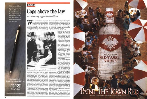 Article Preview: Cops above the law, November 1989 | Maclean's