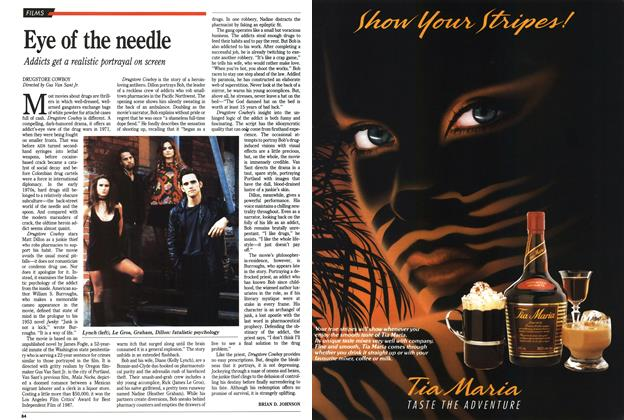 Article Preview: Eye of the needle, November 1989 | Maclean's