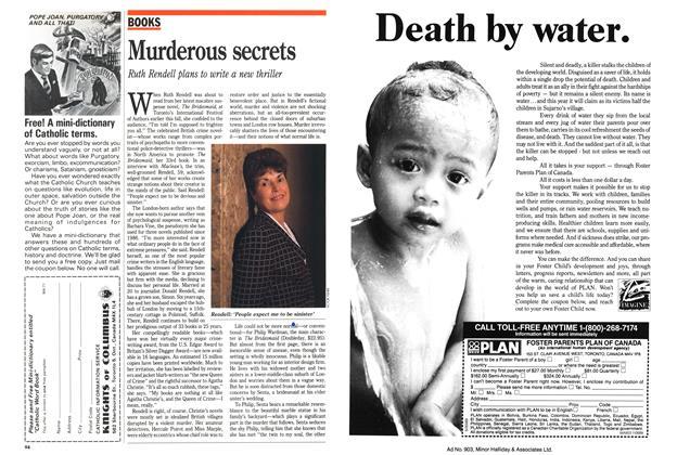 Article Preview: Murderous secrets, November 1989 | Maclean's