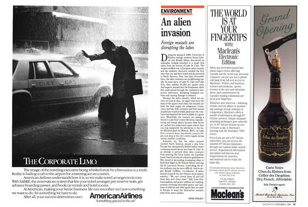Article Preview: An alien invasion, November 1989 | Maclean's