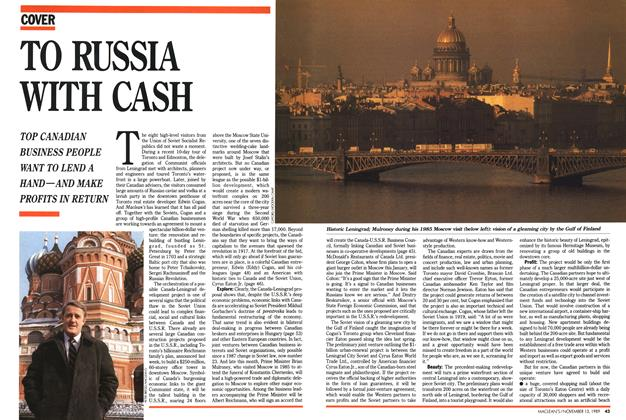 Article Preview: TO RUSSIA WITH CASH, November 1989 | Maclean's